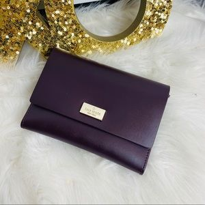 Kate Sapde | maroon and pink wallet